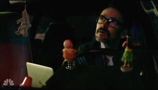 Ritchie in his van