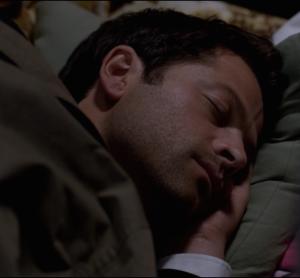 Castiel Sleeping