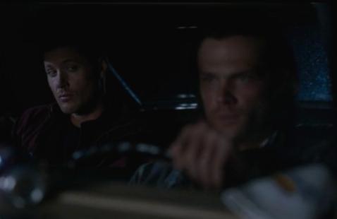 Dean throwing shade at Sam