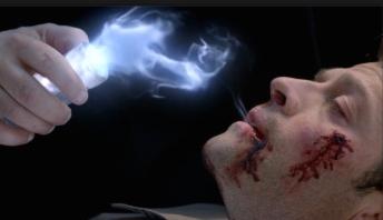 Crowley unexpectedly comes to Castiel's rescue