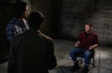 The ritual de-demonizes Dean