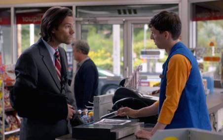 Sam interviews a convenience store clerk