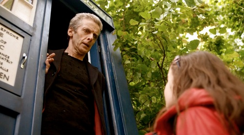 The Doctor has no time for little girls in red coats