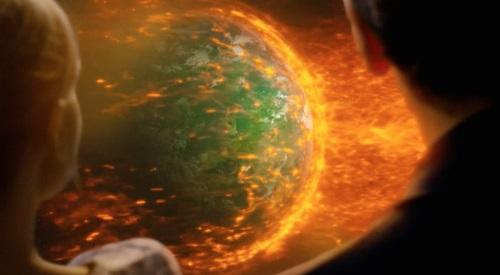 solar flare earth 2