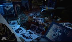 Zed making drawings