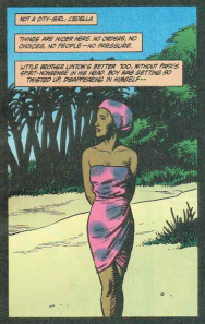 "Cedella in happier times. Hellblazer #72, ""Brave New World."" Ennis/Dillon."