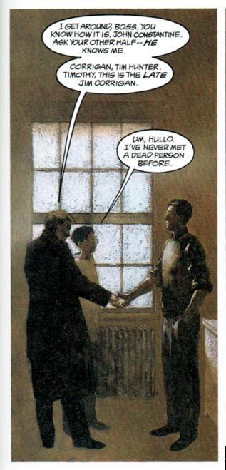 John Meets Jim with Tim: Books of Magic II of IV by Neil Gaiman, 1990