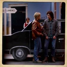 "Boy Melodrama on stage. Supernatural Season 10 Episode 5 ""Fan Fiction"""