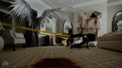 Manny spreads his wings across a crime scene