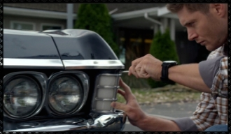 The price of perfection. Dean fixes the Impala.