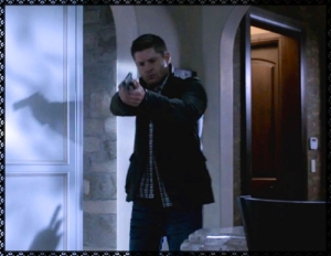 Dean kills Olivia the shapeshifter, then makes sure she's dead
