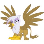 Gilda the Griffin from MLP:FiM