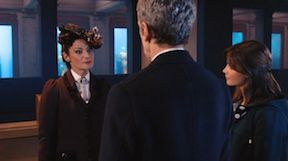 Missy seems to have a strange affect on the Doctor