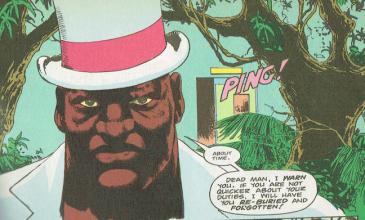 "Papa Midnite in Hellblazer #1 (""Hunger""), 1988"