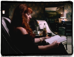 rowena with book and scotch pixlr sloppy