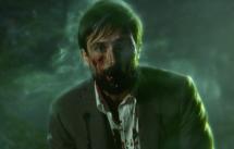 Homicide Detective Jim Corrigan looking unwell.