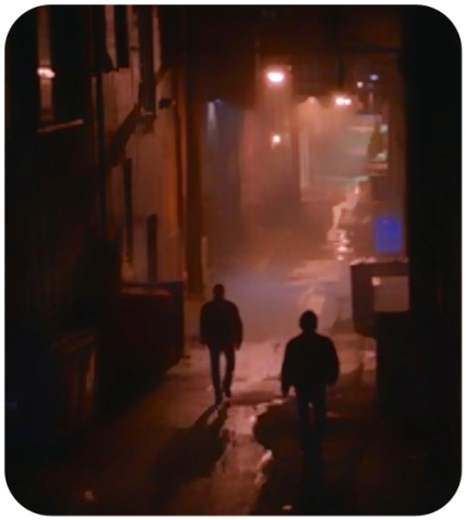 Winchesters in an alley