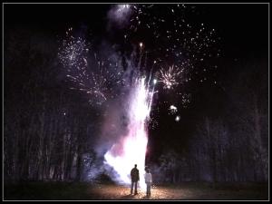 sam dean Winchester fireworks heaven