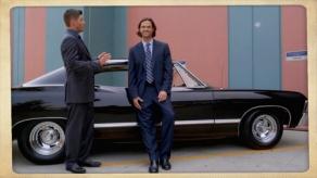 "Sam: ""Casdean""? Dean: ""Shut your face. Get in the car."" Supernatural Season 10 Episode 5 ""Fan Fiction"""