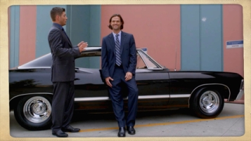 "Sam: ""Casdean""? Dean: ""Shut your face. Get in the car."" Supernatural Season 10 Episode 5 ""Fan Fiction"""