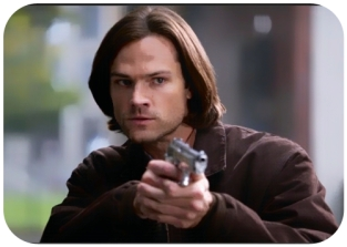 Sam takes aim