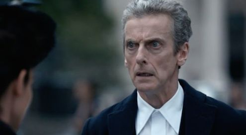 The Doctor responds in shock when Missy tells him she is The Master. That was just how we felt too.