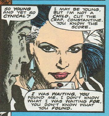 Zed in Hellblazer #4. 1988