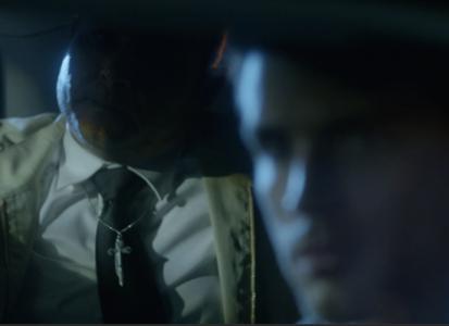 shadowy backseat Ressurection Crusade guy with Eddie