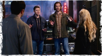 Off to a rocky start: Dean: Whoa. Hey, Miley Cyrus, settle. Claire: Eat me, Hasselhoff. Claire, hold on a second. Sam: Look, my name's -- Sam. And you're Dean. Claire: We've met, remember?
