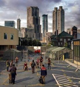 Post-apocalytic Atlanta