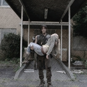 Daryl carrying beth pix pencil 2