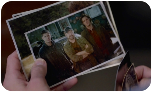 Dean Sam Bobby photo 10x3 pix round