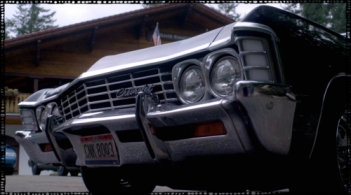 "Baby's grill at the Sheriff's retreat in Supernatural Season 10 Episode 8 ""Hibbing 911"""