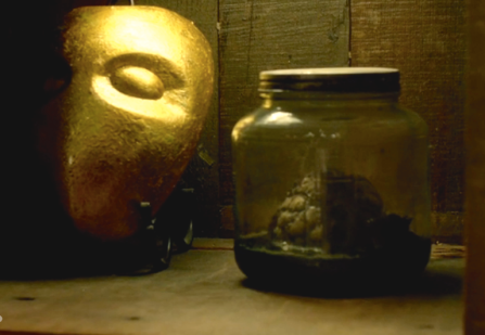 The Medusa Mask and Imogen's heart