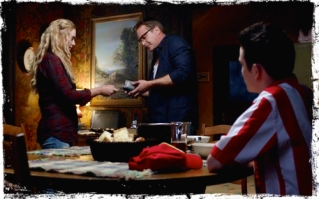 Randy manipulating Claire's need for family so he can support his gambling habit