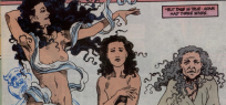 The three faces of Eve: Lilith, the First Eve, and Eve in The Sandman.