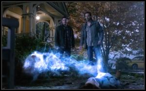 38p Sam Dean Winchester Dark Good Charlie Bradbury There's No Place LIke Home Supernatural