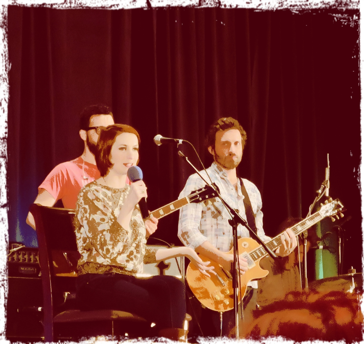Felicia Fox felicia day rob benedict sfcon pix | the supernatural fox