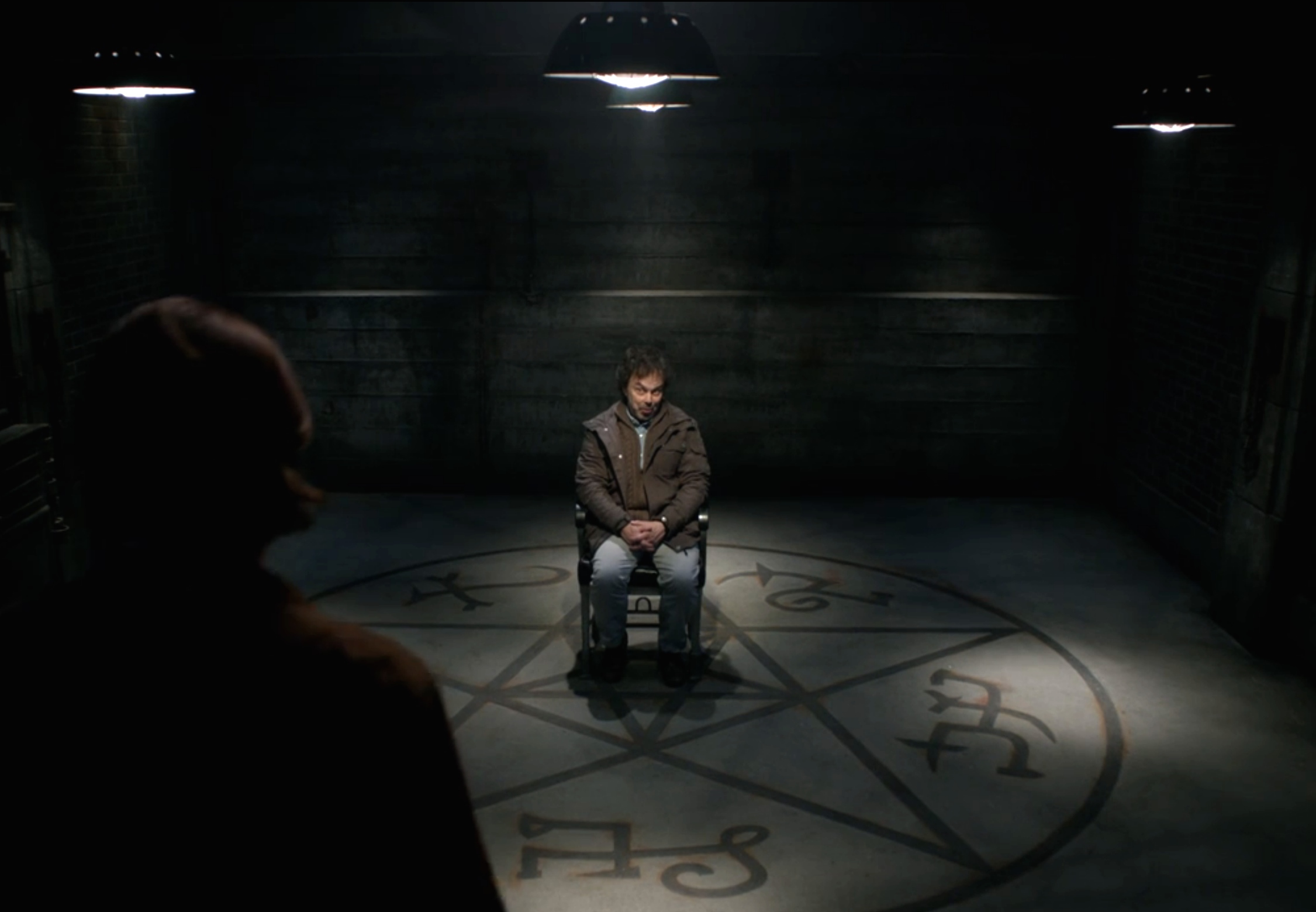 men of letters metatron in the of letters bunker the 23615 | metatron in the men of letters bunker the hunter games supernatural