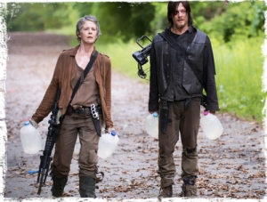 Daryl Carol Strangers The Walking Dead p