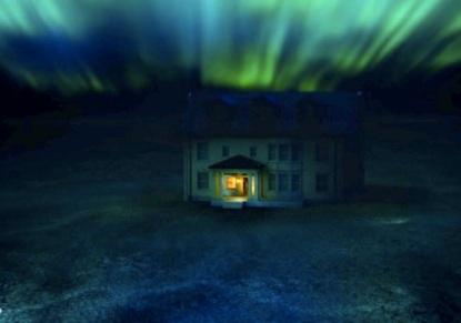 Jacob Shaw's aurora-lit netherworld