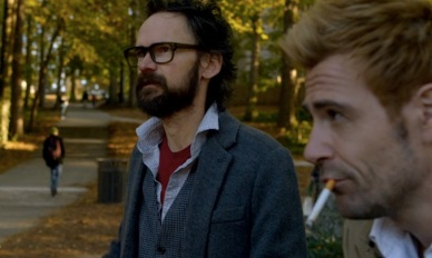 JC & Ritchie on campus