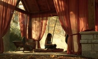 Meditation room at Jasper's