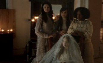 The brides, waiting for the Man