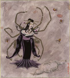 Jorogumo by Matthew Meyer