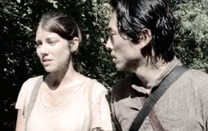 pencil Maggie Glenn Them The Walking Dead