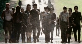 pencil On the Road Them The Walking Dead