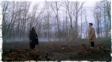 Cain comes upon Castiel