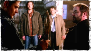 pg Crowley gives First Blade to Dean 2 The Executioners Song Supernatural