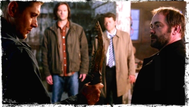 Dean demands the First Blade from Crowley